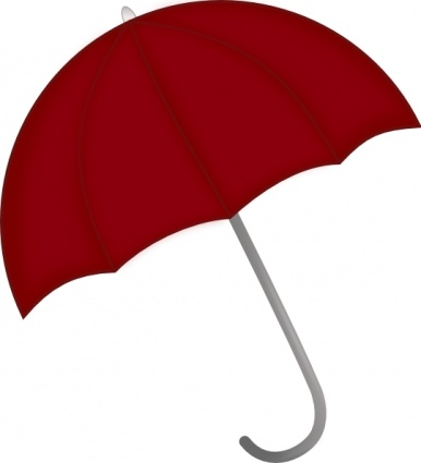 Red Closed Umbrella | Clipart Panda - Free Clipart Images
