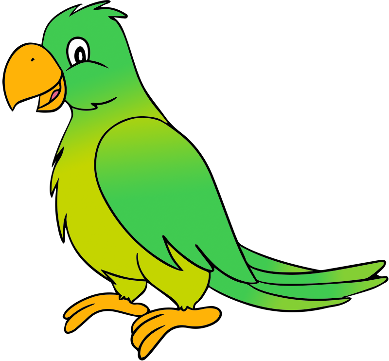 green parrot clipart clipart panda free clipart images