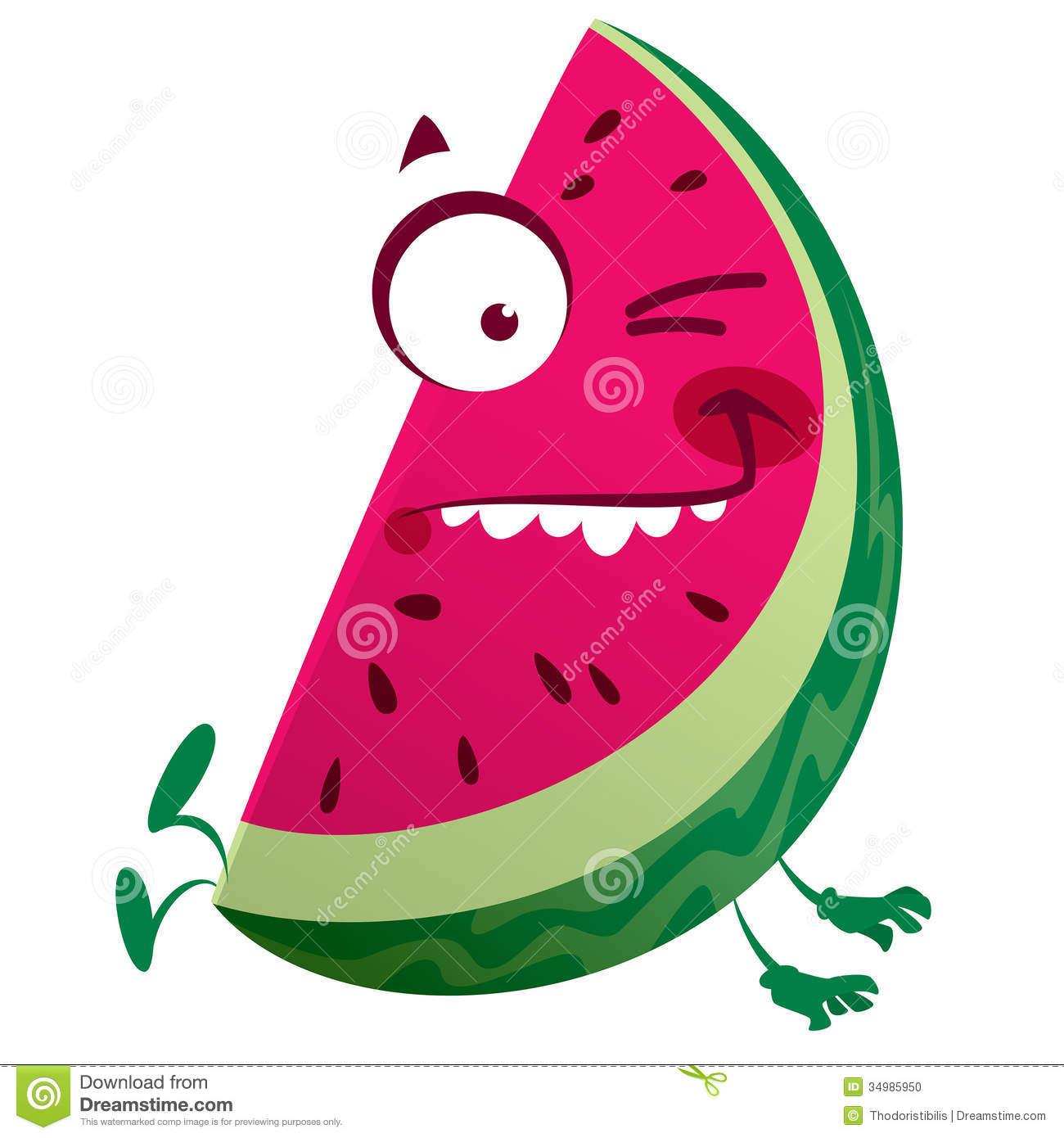 cute-watermelon-background-cartoon-pink-watermelon-fruit-character    Watermelon Cartoon Characters