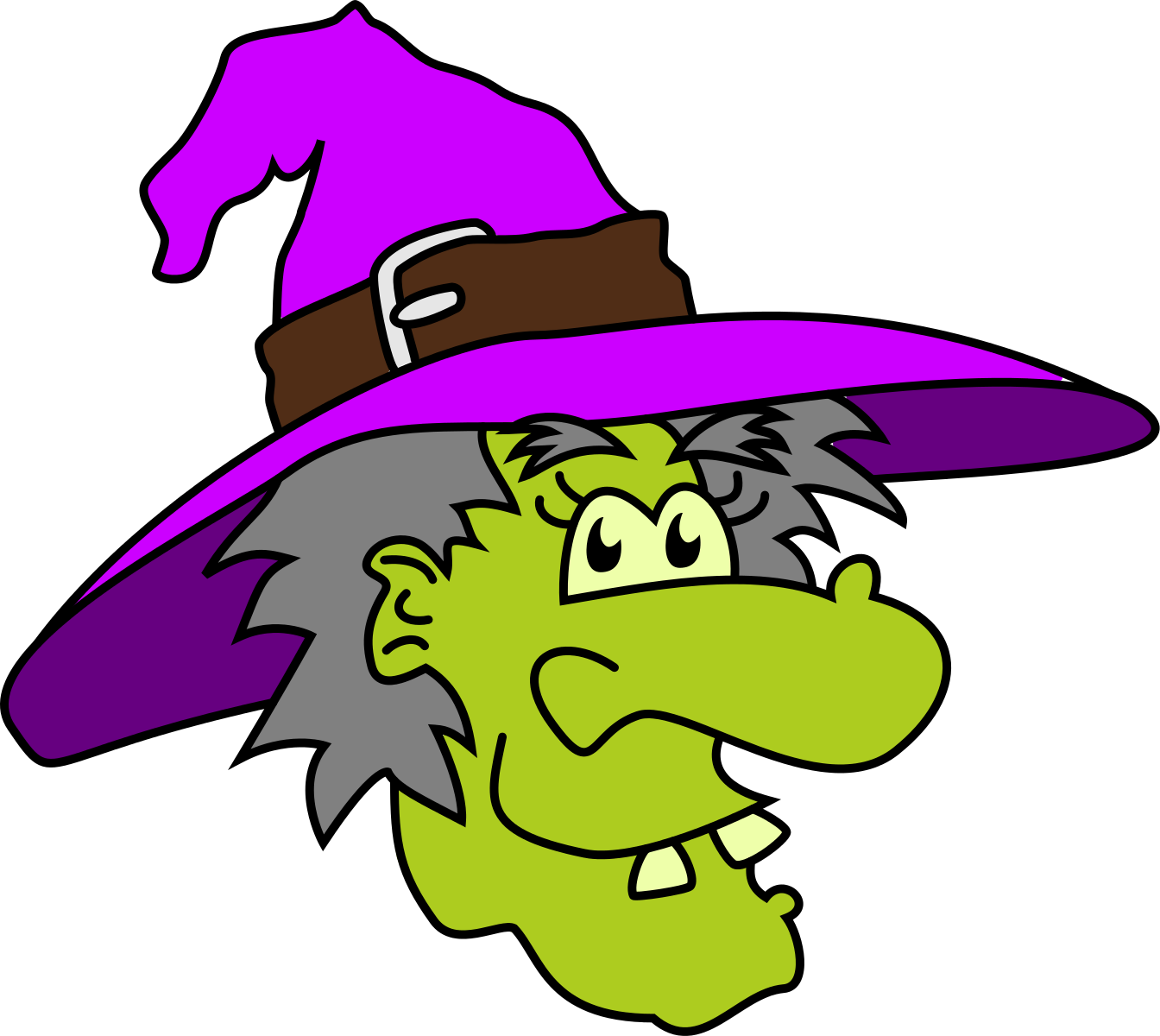 Cute Halloween Witch Clipart | Clipart Panda - Free Clipart Images