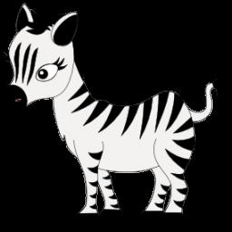cute zebra clipart clipart panda free clipart images rh clipartpanda com Cute Zebra Face Cute Zebra Face