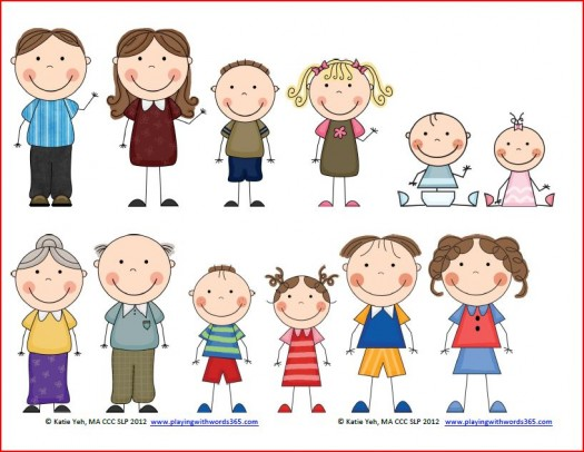 clipart family members clipart panda free clipart images rh clipartpanda com Cartoon Family Members free clipart family members
