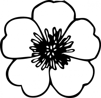 daffodil%20clipart%20black%20and%20white