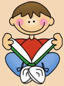 daily%205%20read%20to%20self%20clipart