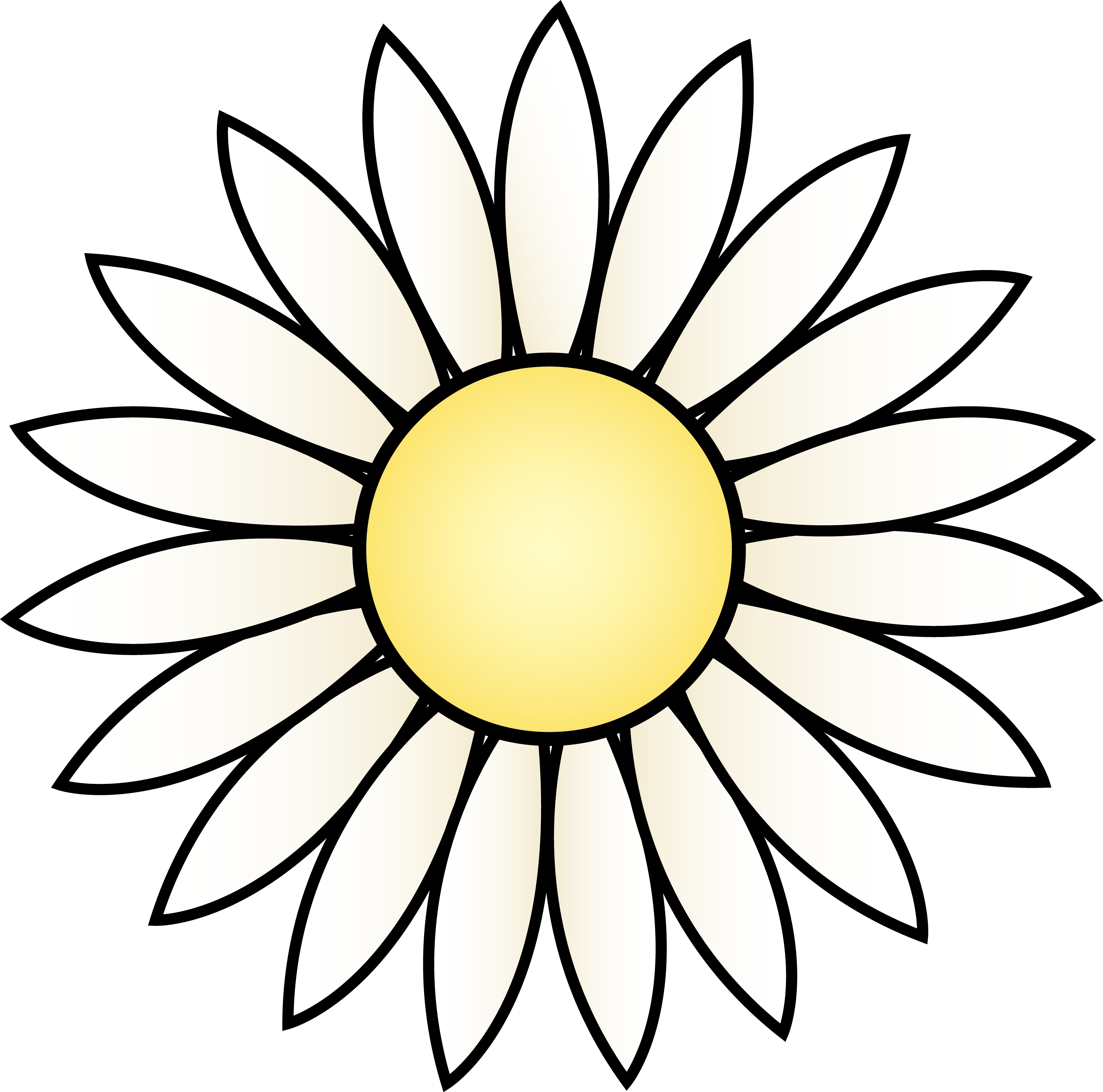 Daisy clip art free clipart panda free clipart images for Free online drawing