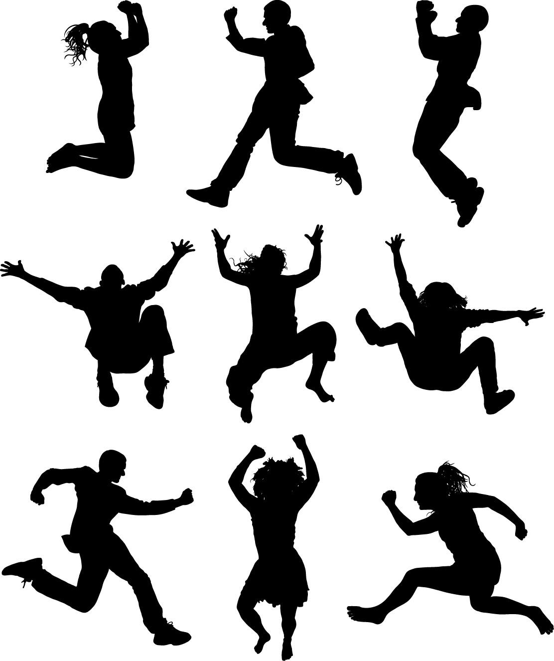 Dance Clip Art Black And White | Clipart Panda - Free Clipart Images