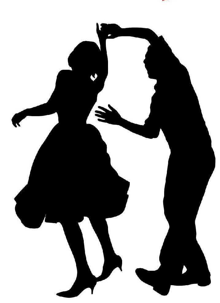 Dance Clip Art Black And White | Clipart Panda - Free ...