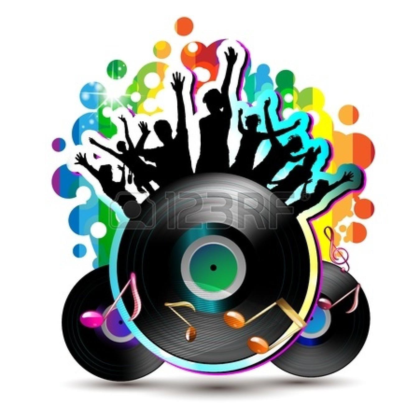 Dance party background clipart panda free clipart images - Bola de discoteca ...