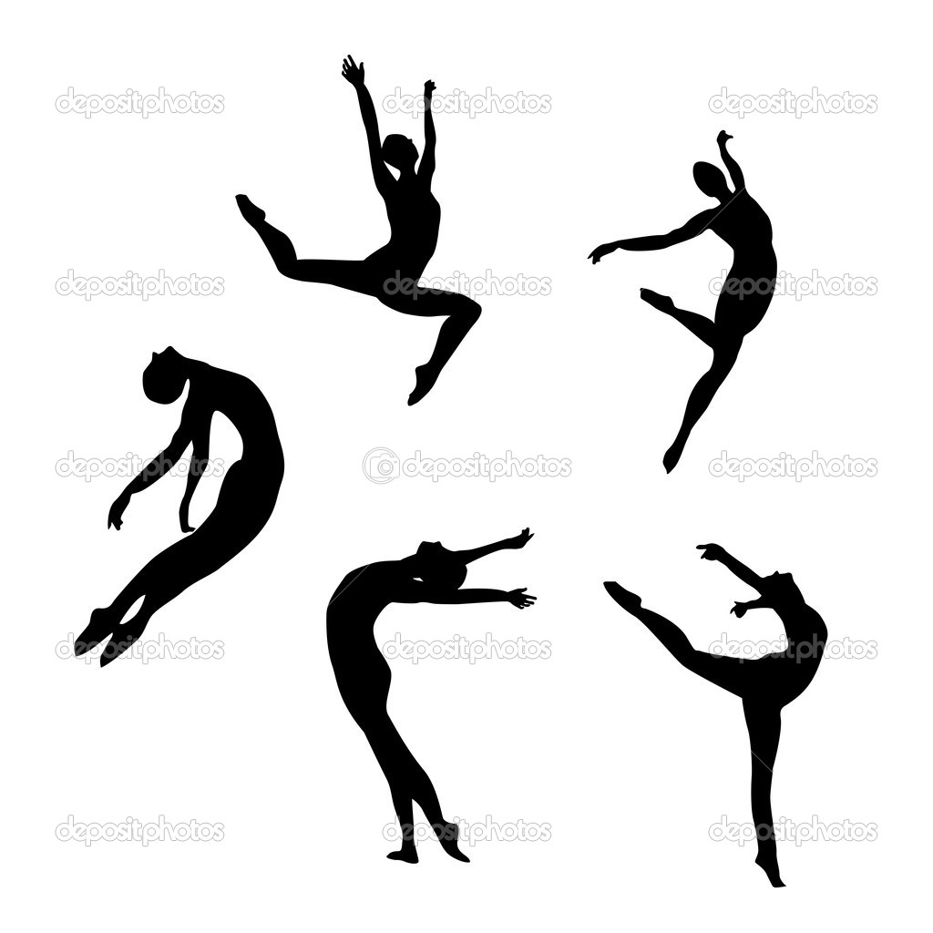 Contemporary Dancer Silhouette | Clipart Panda - Free Clipart Images