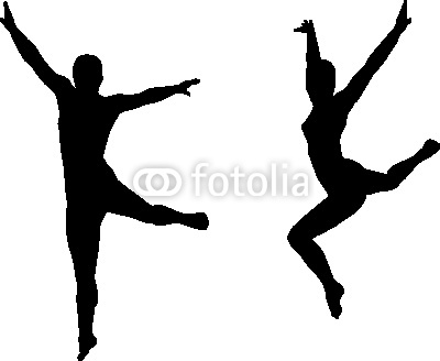 dancer-jumping-silhouette-400 F 11635747    Dancer Jumping Silhouette