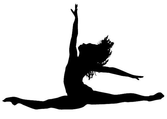 dancer jumping silhouette clipart panda free clipart gymnastic clipart gymnastic clipart