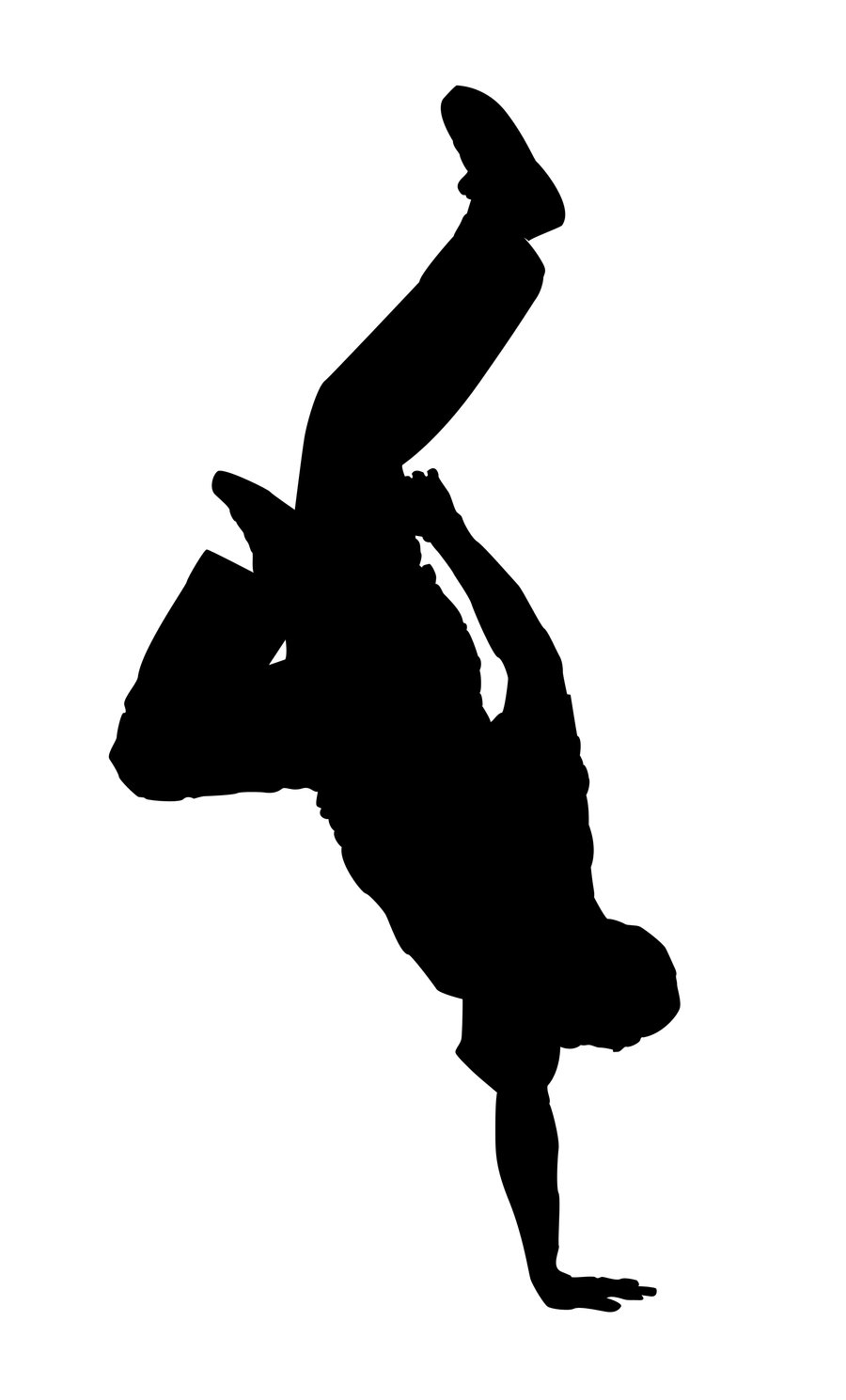 Dancer Silhouette | Clipart Panda - Free Clipart Images
