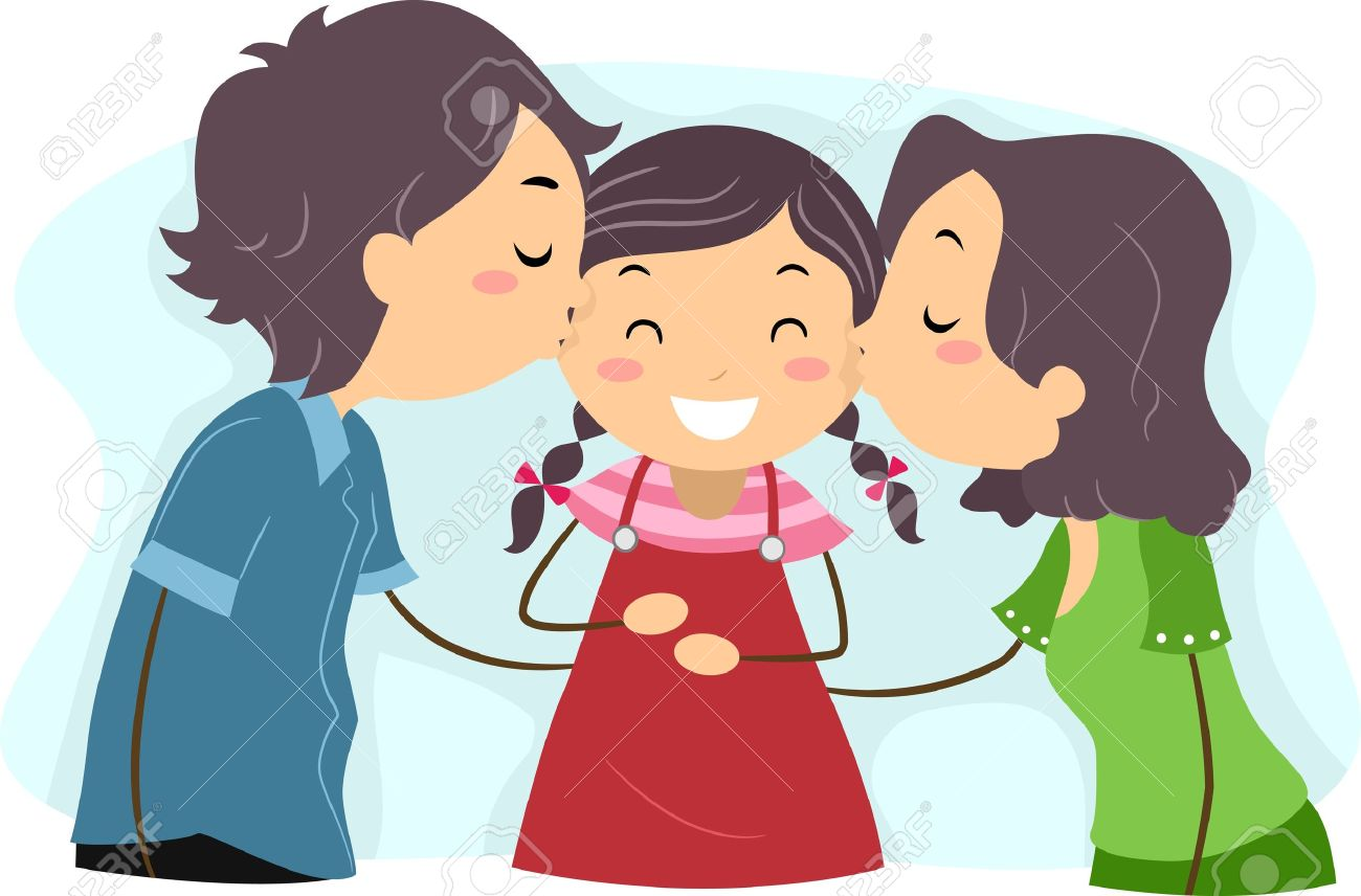 Daughter Clipart   Clipart Panda - Free Clipart Images Hugging Family Clipart