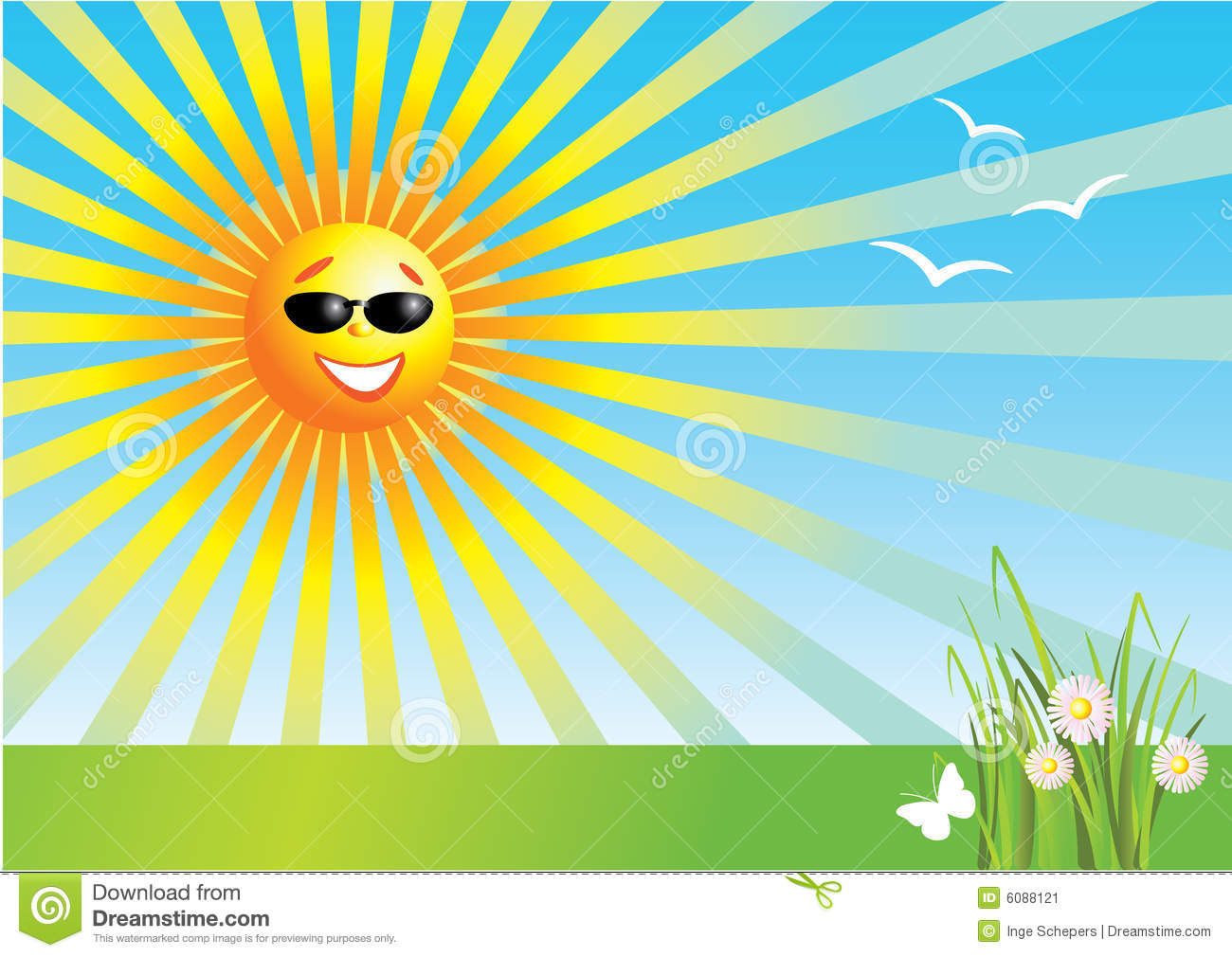 Line Drawing Sunny Day : Day clip art clipart panda free images