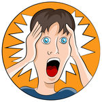 Shocked Face Clipart - More information