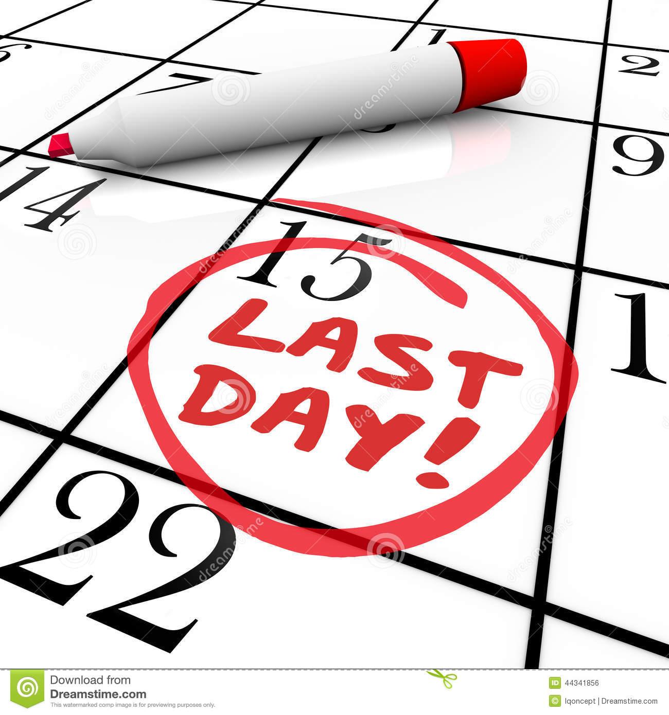 Clip Art Calendar Reminder : Deadline clip art online free clipart panda
