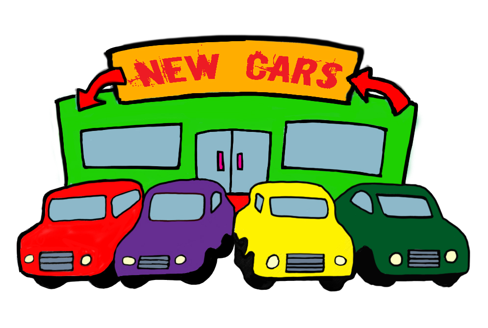 clipart car dealership - photo #1