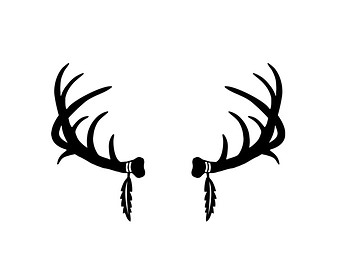 69680 moreover Whitetail Deer Clip Art 6094531 moreover Art Nouveau Clipart 20245 additionally Deer Clip Art Animation also Deer Skull Decal Drop Tine. on deer art projects