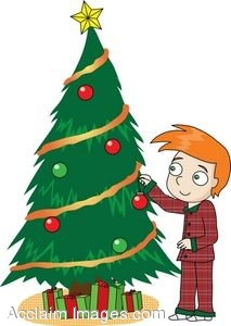 Decorated Christmas Tree Clipart | Clipart Panda - Free ...