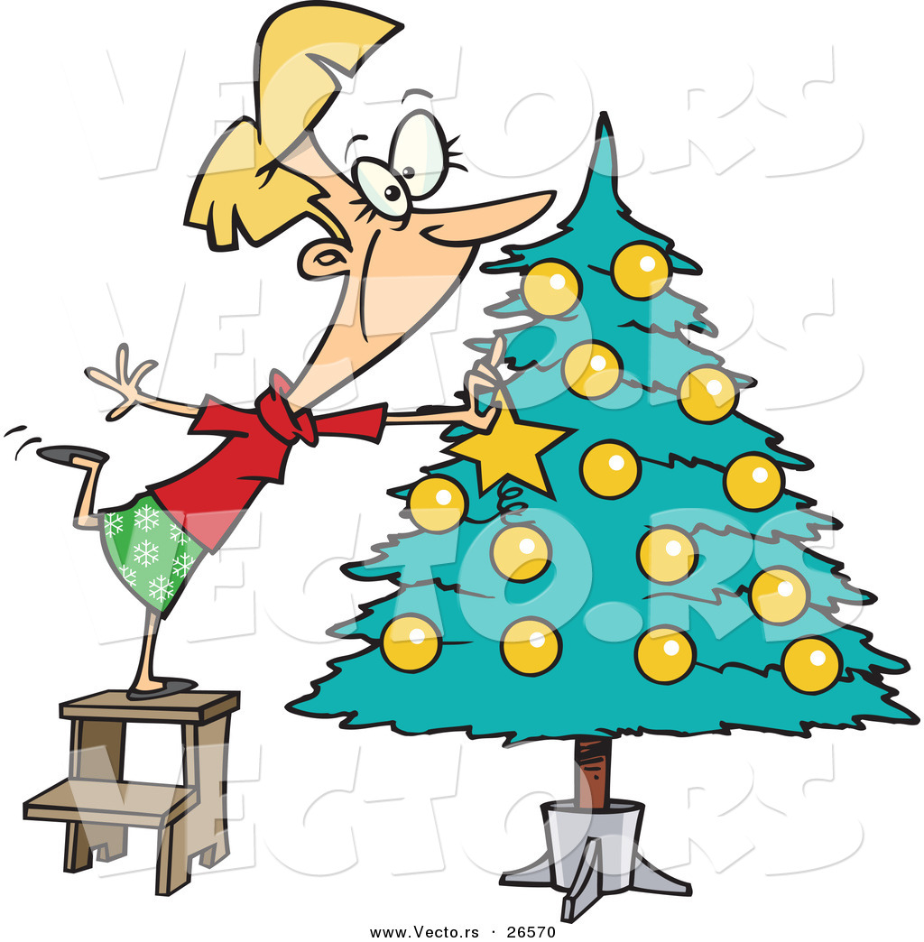 decorated christmas tree clipart decoration image idea