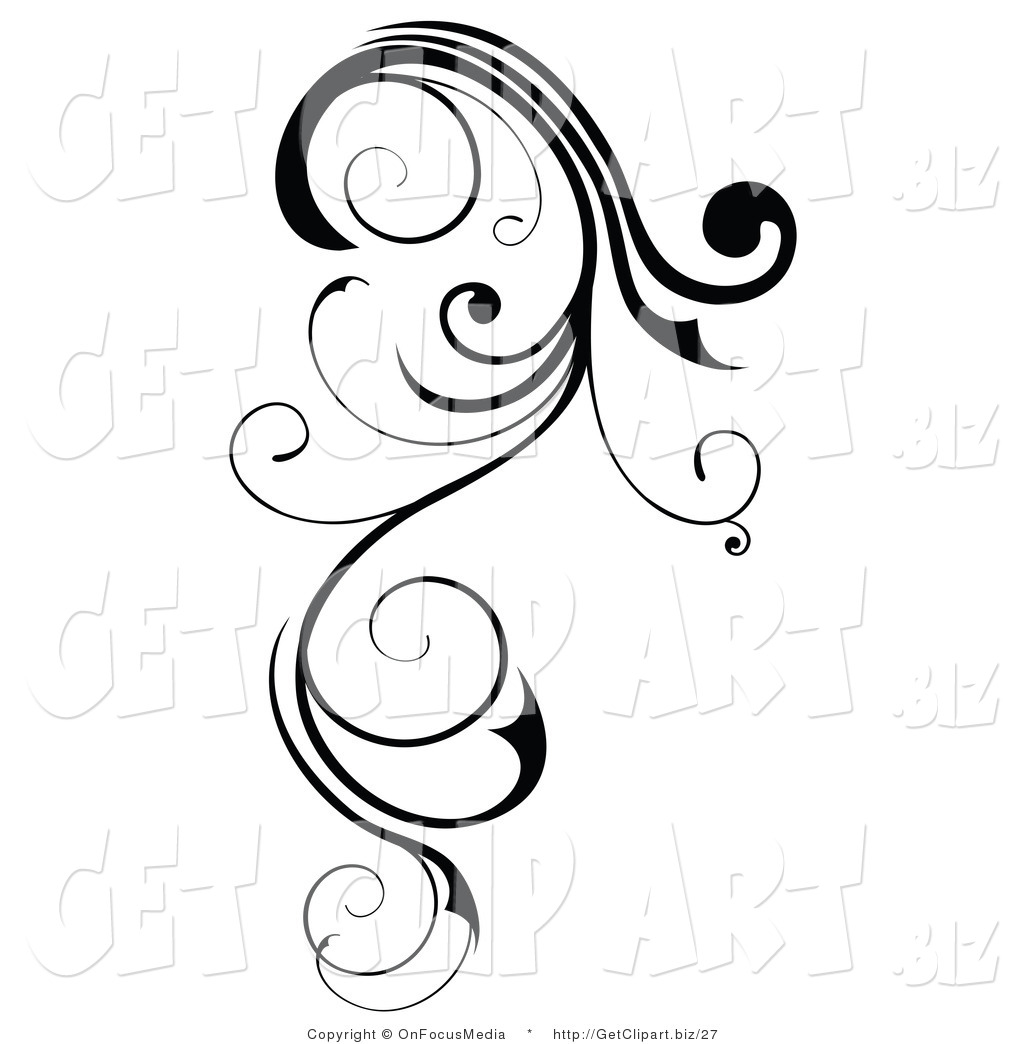 Line Art Design : Decorative line clipart panda free images