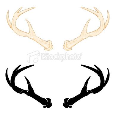 Deer antlers clipart - photo#20