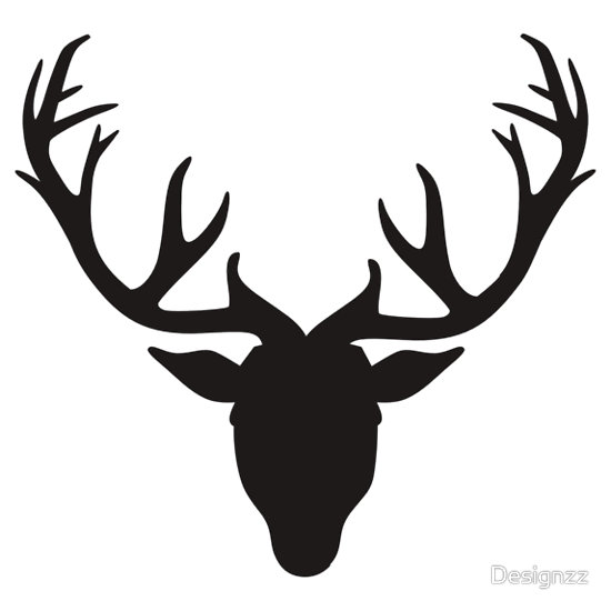 Deer Antlers Clipart Black And White | Clipart Panda - Free Clipart ...