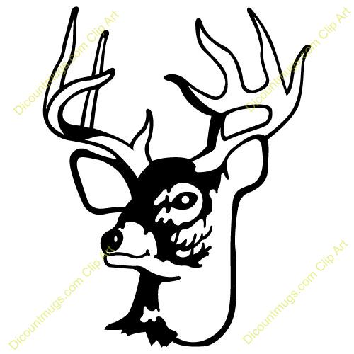 Deer Skull Clip Art Deer clip art