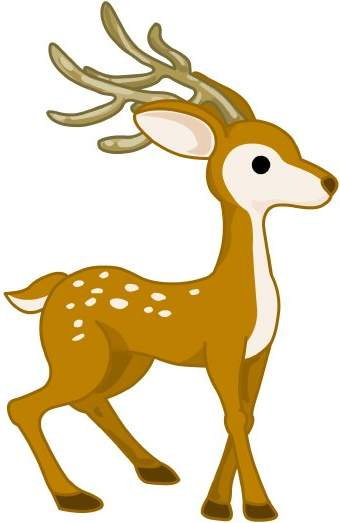 deer clipart clipart panda free clipart images rh clipartpanda com free clipart deer antlers silhouette free beer clipart