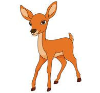 deer clipart clipart panda free clipart images rh clipartpanda com clip art of deer eating crops clipart of deer lying down