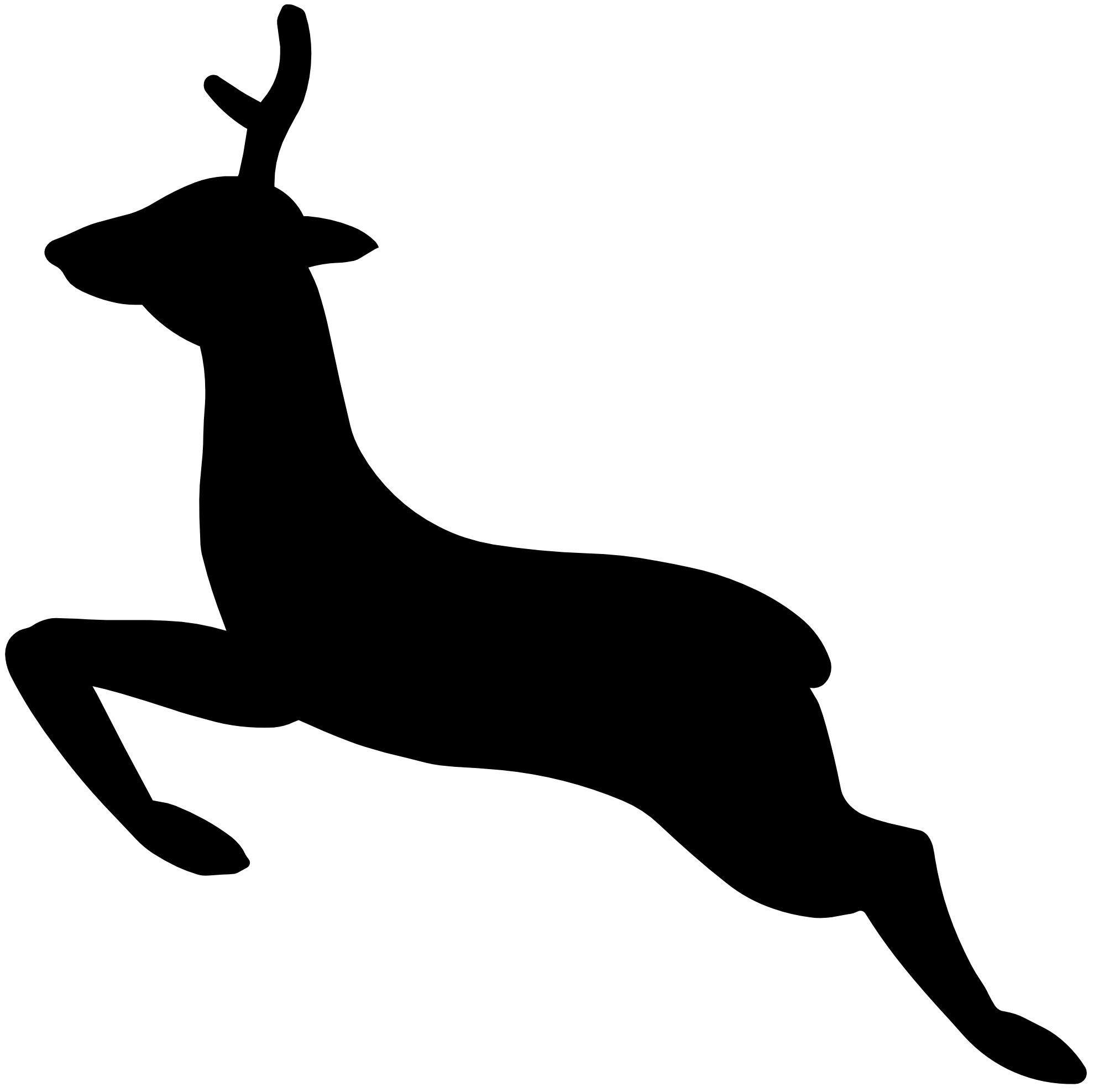deer%20clipart%20black%20and%20white