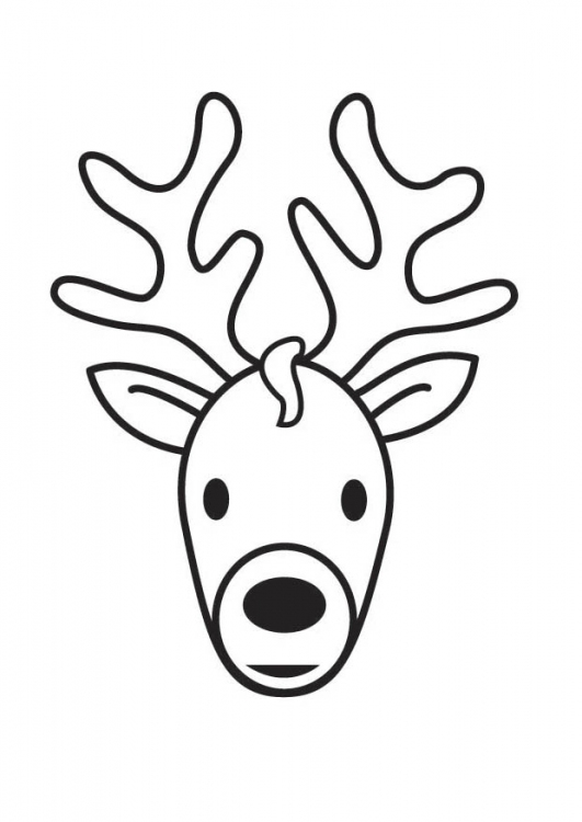 deer coloring page clipart panda free clipart images