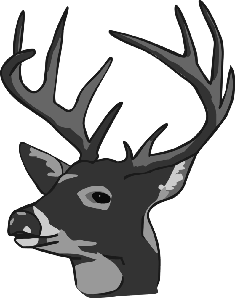 deer head clipart black and white clipart panda free deer head clip art cricut deer head clip art images