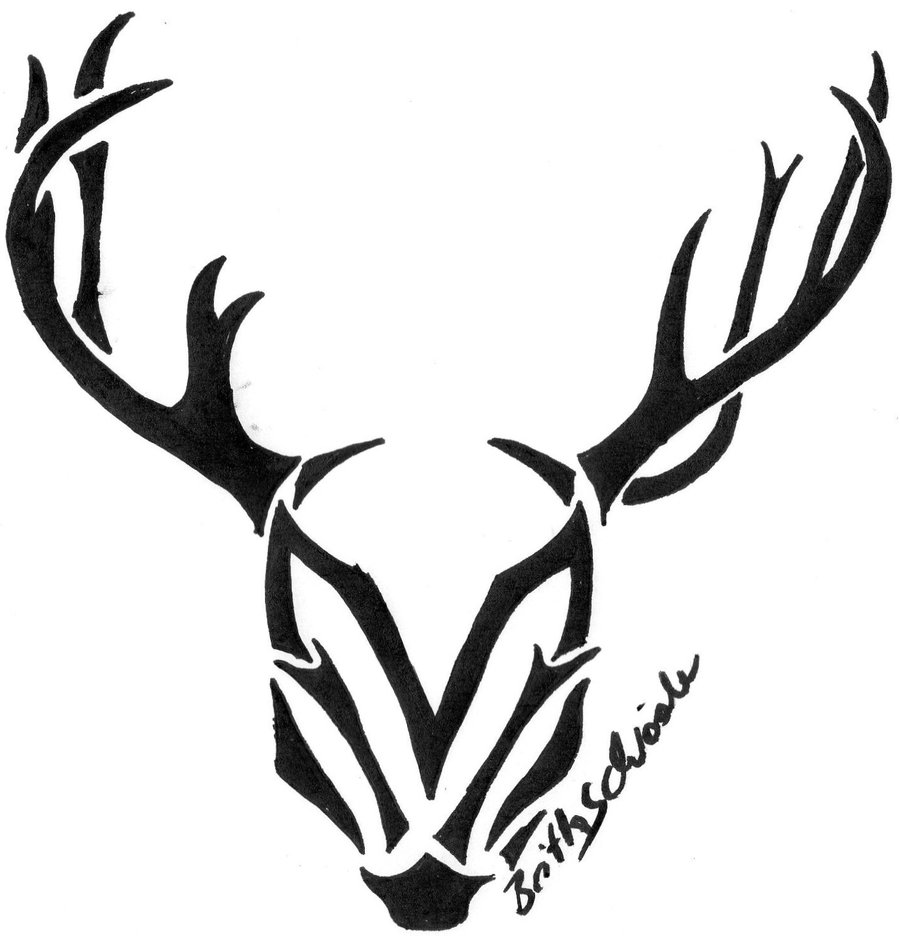 deer-skull-drawing-tribal-deer-head-tattoos.jpg