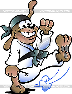 Dog Practices Self-Defense | Clipart Panda - Free Clipart ...