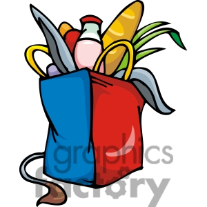 Grocery Clipart Black And White | Clipart Panda - Free Clipart Images