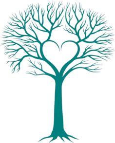 Heart Family Tree Clip Art Clipart Panda Free Clipart