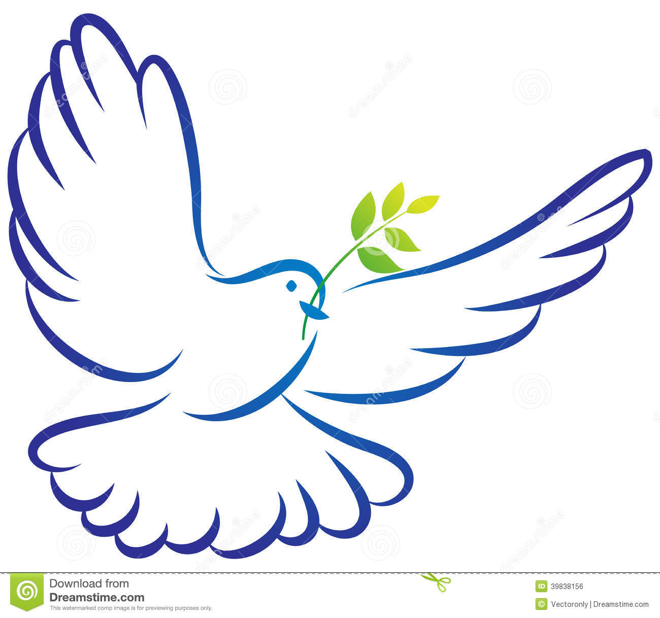 Peace Dove Symbol Wallpaper