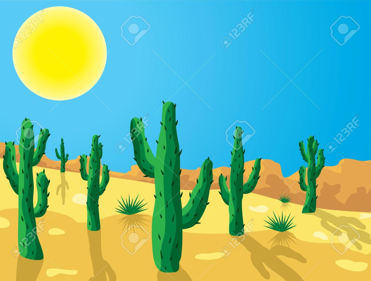 cactus in desert clipart clipart panda free clipart images
