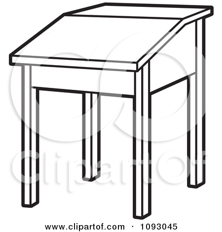 School Desk Clipart Desk clip art