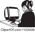 desktop%20computer%20clipart%20black%20and%20white