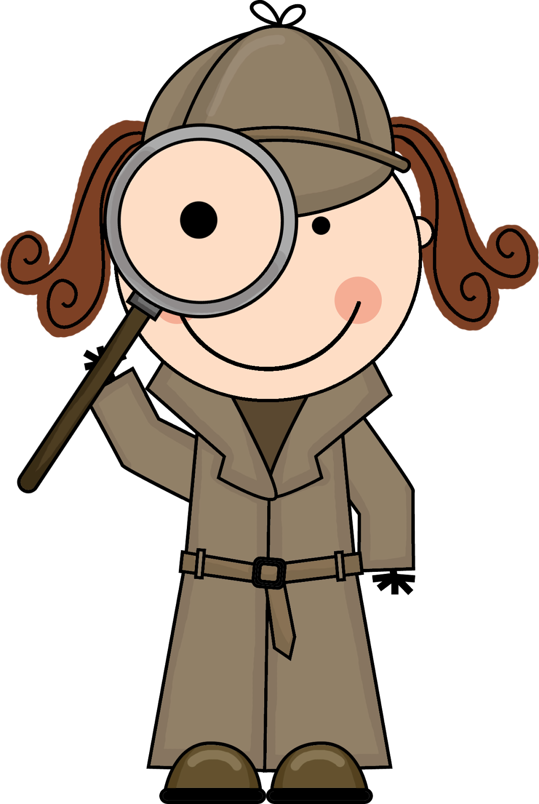 Image result for cartoon child detective