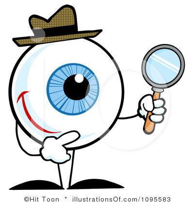 Clip Art: Senses 1 Sight Color I abcteach.com   abcteach