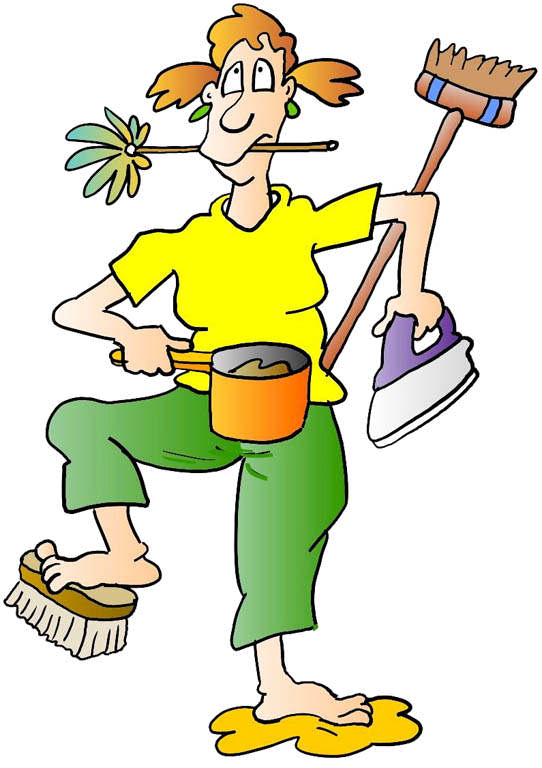 Mother Cleaning Clipart | Clipart Panda - Free Clipart Images