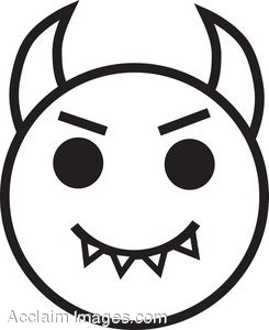 With Devil Horns Clip Art Clipart Panda Free Clipart
