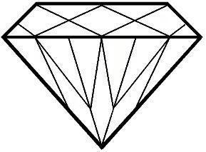 Diamond Clip Art Vector