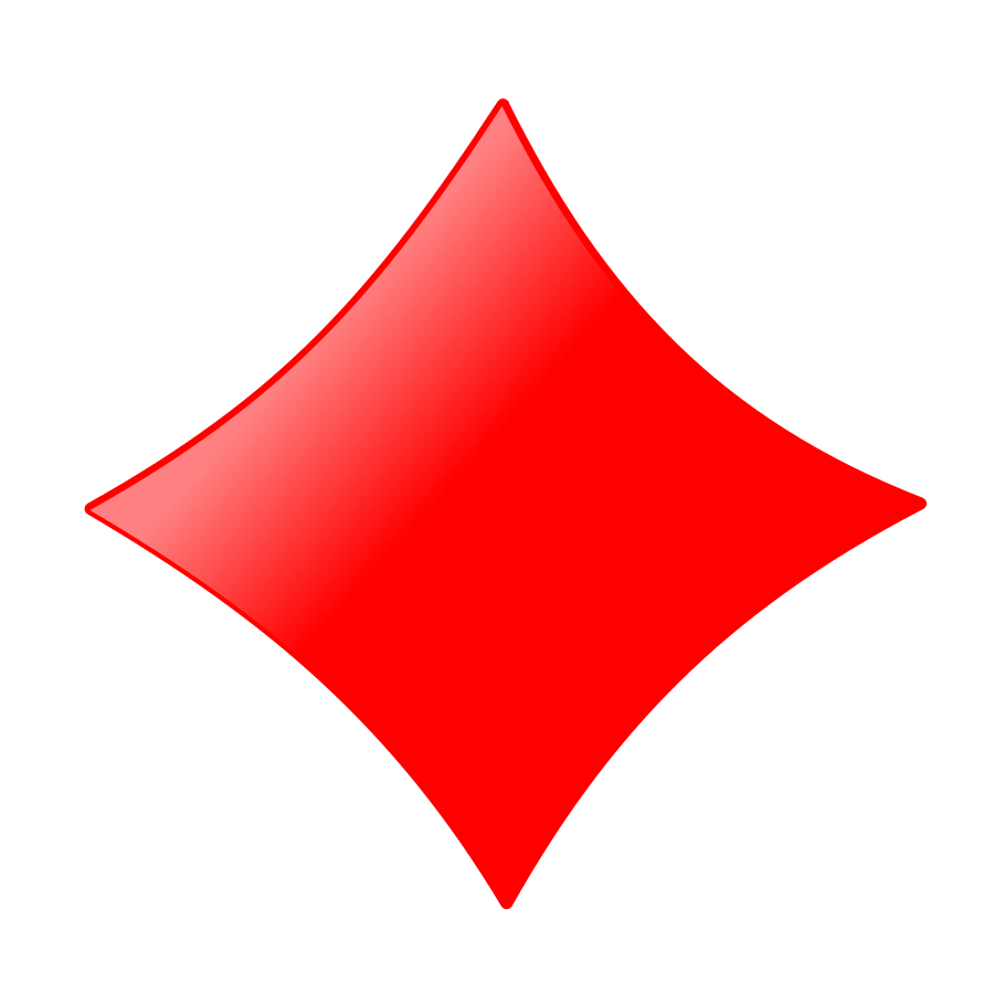 Card Symbols Diamond Clipart | Clipart Panda - Free ...