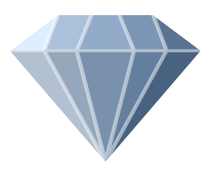 blue diamond clip art for clipart panda free clipart images rh clipartpanda com Diamond Outline Transparent Transparent Frames Diamonds