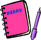 Girl Writing In Diary Clipart | Clipart Panda - Free Clipart Images
