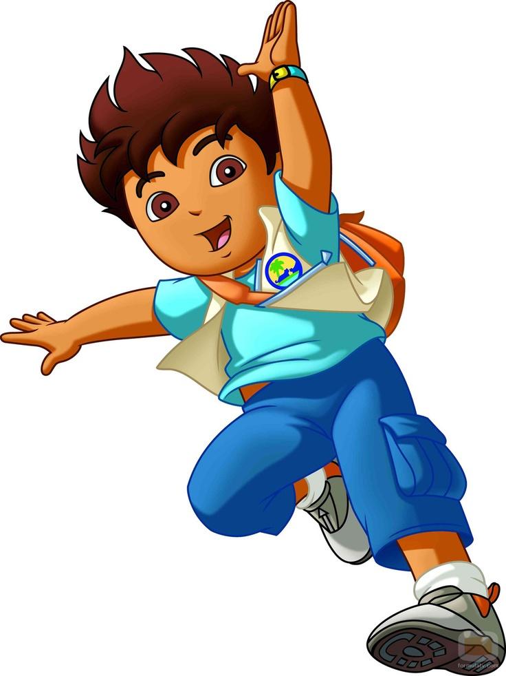 Go Diego Go Clip Art